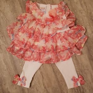NWOT Truly Scrumptious 2 PC. Size 9 mo.